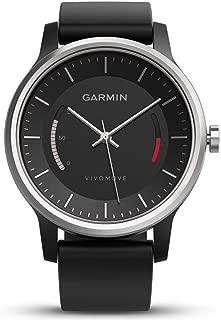 GARMIN(ガーミン) デザインスマートウォッチ VIVOMOVE SPORTS BLACK ブラック アクティブトラッカー 歩数 防水 活動量計【日本正規品】 159738