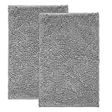 Best Bathroom Rugs - (Set of 2) Bathroom Rugs and Mats Sets Review