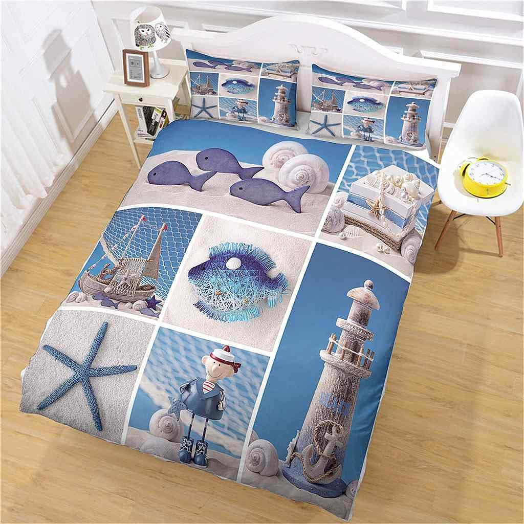 Omaha Mall Max 70% OFF PYCXYI Full Size Duvet Cover Set with for Pillowcases 3Pcs Kids