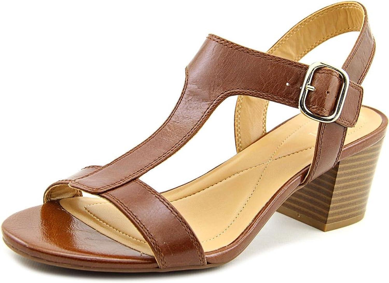 Alfani Women's Yullia Open Toe Leather Sandals