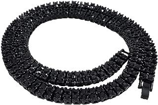 Best black tennis chain Reviews