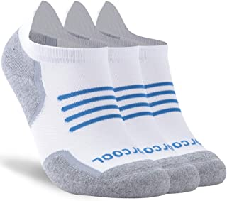 Women's Men's Dry-fit Cushion Ankle Running Socks Tab, M/L/XL, 1/3 Pairs