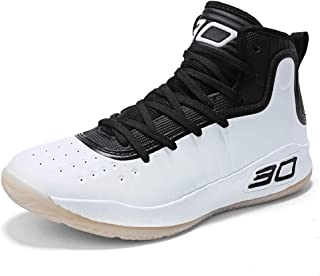 Mens High-Top Fashion Performance Cool Basketball Shoes Breathable Youth Sports Running Sneakers