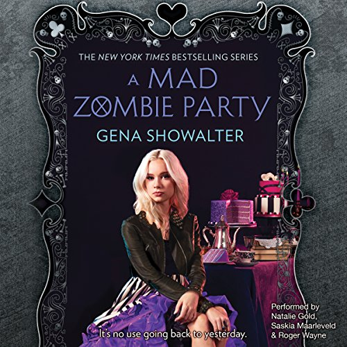 A Mad Zombie Party audiobook cover art