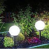 wangpu Nuevo tipo de luces solares de jardín al aire libre, 6...