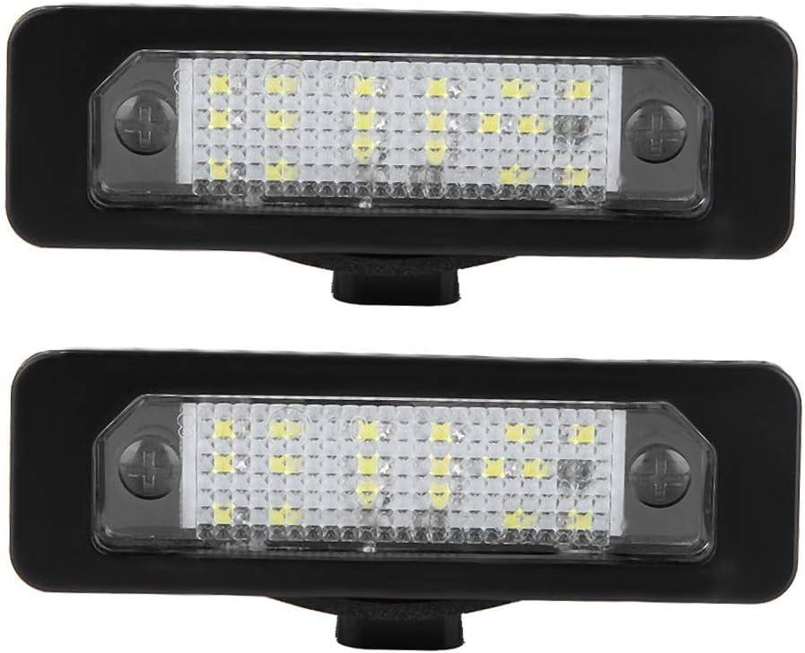 Terisass License Plate Light 2 Pcs Illum Max 75% OFF 18Pcs LED Super sale period limited