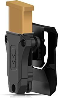 efluky Universal Single Mag Pouch, Single Stack Magazine Paddle Holster Fits Glock Sig Browning Beretta Taurus H&K S&W Colt Kimber 1911 Mags and More