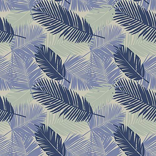 Decoratieve tape voor tegels 268521 Oliena, blauw gelakt [6 tegels], 15 x 15 cm