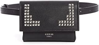 Guess Flap Bag for Women - Black