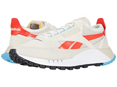 Reebok Lifestyle Classic Leather Legacy (Alabaster/Chalk/Laser Red) Shoes