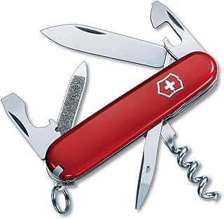 Victorinox Swiss Army Sportsman Pocket Knife (Red)