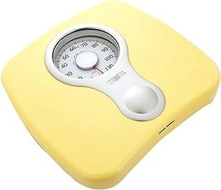 Báscula de baño mecánica portátil, báscula Corporal Saludable, tecnología Paso a Paso, 265 LB (120 kg)
