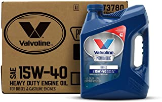 Valvoline Premium Blue 8600 ES SAE 15W-40 Engine Oil 1 GA, Case of 3