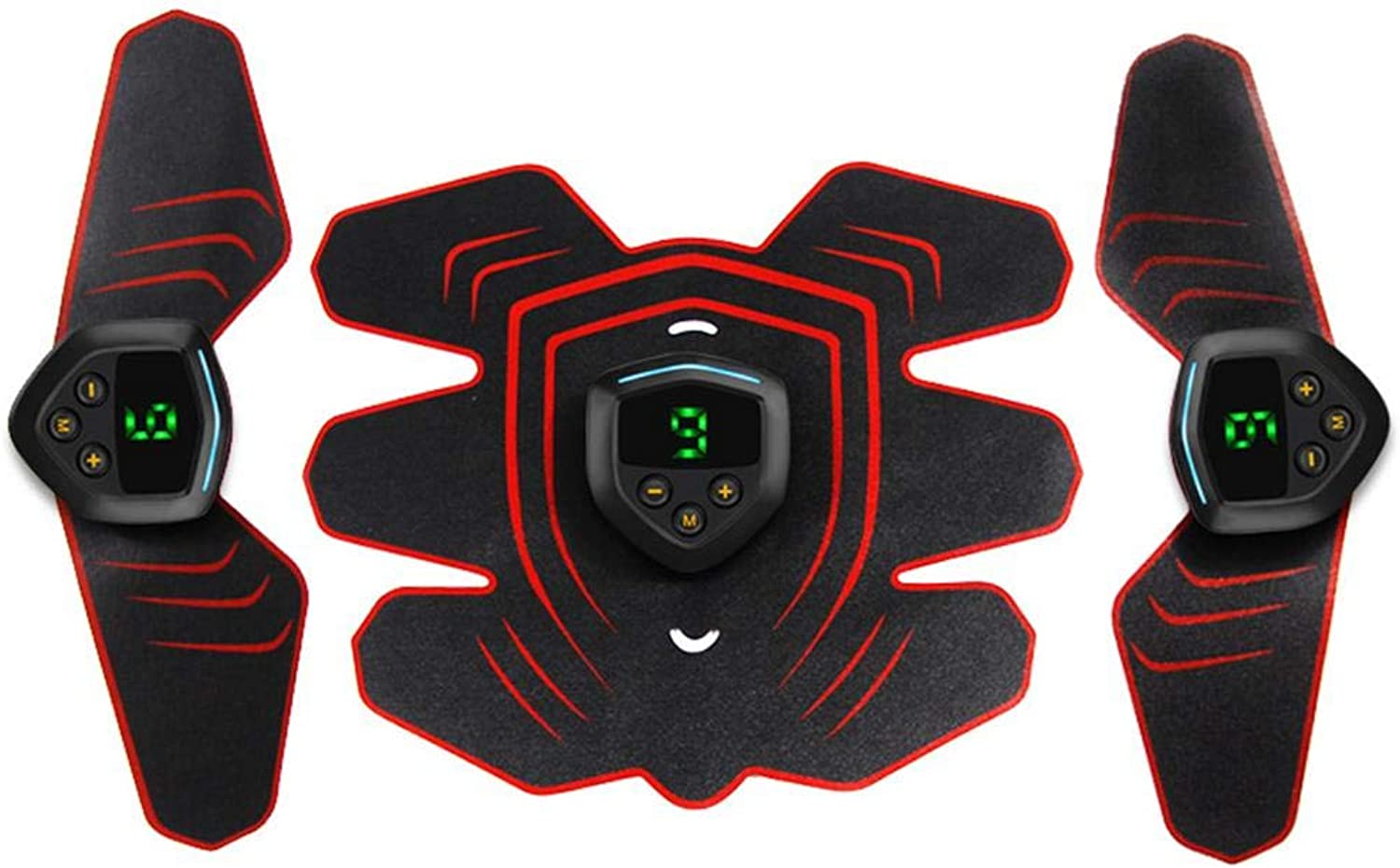 Intelligent HA01226 Abdominal Device Rechargeable Abdominal Instrument Fitness Belly Equipment Sports Abdominal Sticker Muscle Trainer Smart