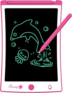 LCD Writing Tablet, 8.5 Inch Drawing Tablet Kids Tablets Doodle Board, Drawing Board Gifts for Kids and Adults at Home, Sc...