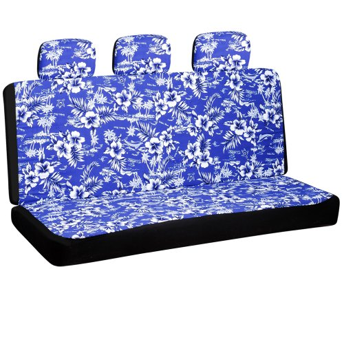 Oxgord SCFC-H1D-BL Hawaiian Bench Cover, Color Beige