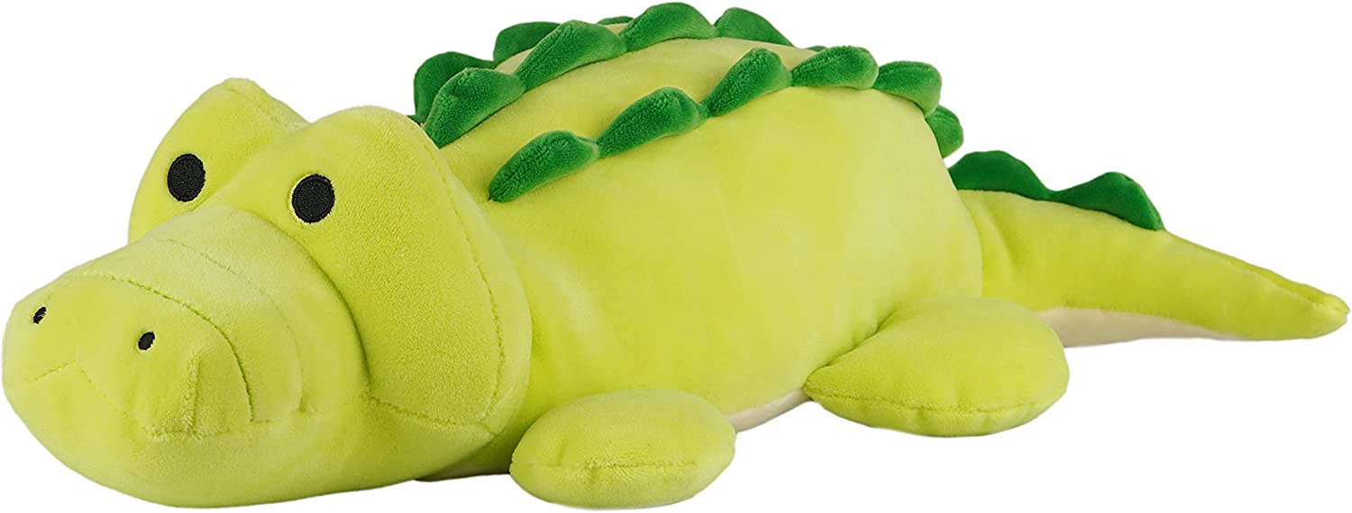 Avocatt Green Alligator Plushie Toy - P Inches 12 Animal low-pricing A surprise price is realized Stuffed