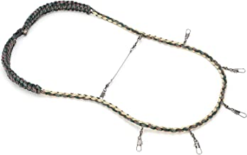 Fluefiske -snodd, lätt att bära PRAKTISK Praktisk flugfiske -snodd med multiklämma för FISKE