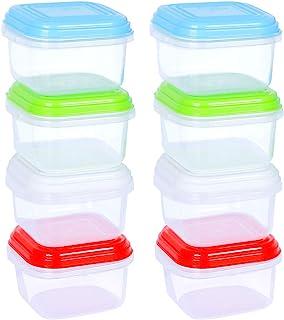 ARSUK Repas de Bébé Boîtes de Conservation, BPA en plastique Alimentation réutilisable récipient hermétique Boîtes avec co...