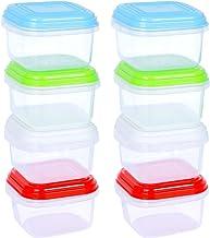 ARSUK Recipientes para comida de bebé 120 ml, envases de