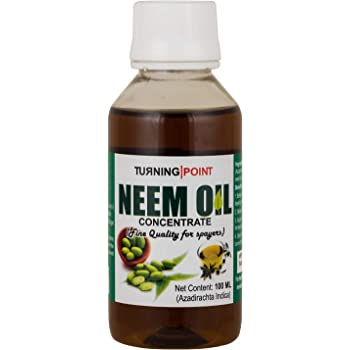 Chipku B Natural Neem Clean and Concentrate Cold Pressed Oil for Spray on Plants (100 Ml)