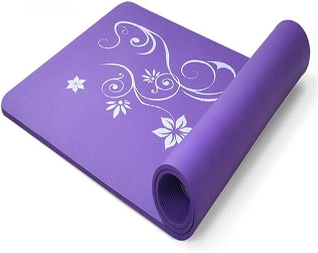LILUO Tapis de Yoga Fournitures de Yoga nbr Débutant Multi-Fonction Soutien Pad Tapis de Yoga 183  61  1.5cm