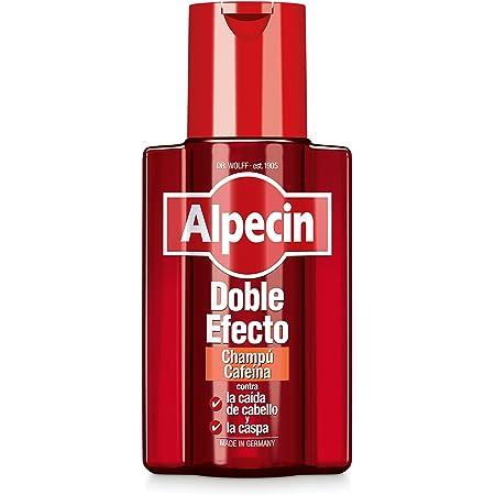 Alpecin Doble Efecto 1x 200ml | Champu anticaida hombre y anticaspa hombre | Alpecin Champu con cafeina tratamiento para la caida del cabello y caspa