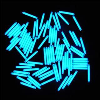 AdvancedShop 1pcs Trit Vials Tritium Multicolor Self-Luminous 15-Years 3x22.5mm (Blue)