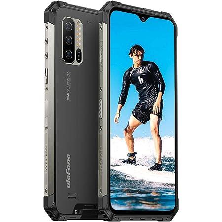 Android 10 4G Móvil Resistente, 2021 Ulefone Armor 7 Helio P90 Octa-Core IP68 Impermeable Smartphone, 8GB + 128GB, Cámara Triple de 48 MP con IA, Teléfono Movil Antigolpes FHD + de 6,3 Pulgadas, NFC