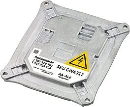 HID Xenon Headlight Ballast - Control Unit Module - Replaces 307 329 153, 307 329 193, 63 117 182 520, 8J0 907 391 - Fits BMW 328i, 335i, M3, 645i, 650i, X5, X3, Cadillac DTS and more - Years 06-2011