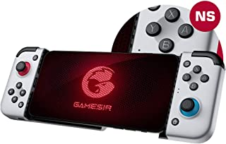 GameSir Controller Mobile Game X2 per Telefono Android - Cloud, Stadia, Supportato Vortex Gaming, Joystick Mobile di Tipo-...