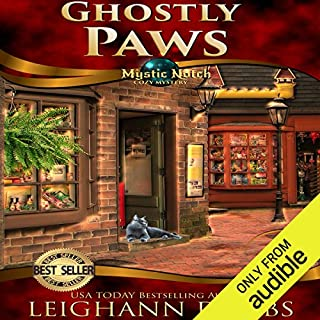 Ghostly Paws     Mystic Notch Cozy Mystery Series, Book 1              By:                                                                                                                                 Leighann Dobbs                               Narrated by:                                                                                                                                 Elisabeth Rodgers                      Length: 5 hrs and 58 mins     17 ratings     Overall 3.9
