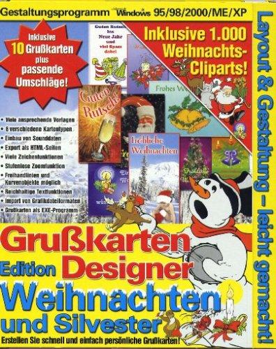 Grußkarten Designer Weihnachten und Silvester