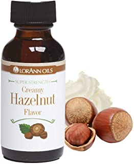 LorAnn Flavoring Oils - Creamy Hazelnut Oil - 1 Ounce Bottle