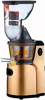 Slow Masticating Juicer Extractor, Cold Press Juicer Machine,Gold,220-240V