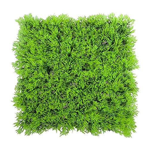 SODIAL(R) Kuenstliche Pflanze kuenstliche gefaelschte Wasser wasserlebend gruenes Gras Pflanze Rasen Aquarium Landschaft