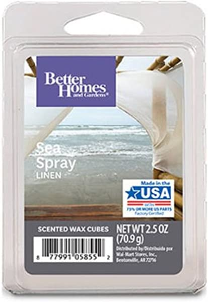 Better Homes And Gardens Sea Spray Linen Wax Cubes New For 2017