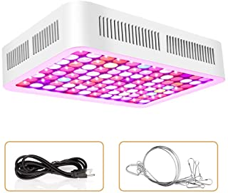 Roleadro Plant Grow Light, 600W LED Grow Light Full Spectrum Plant Light Dual-Chip Growing Lamp with ON/Off Switch,Daisy Chain for Hydroponic Indoor Plants Veg and Flower (only 110V)