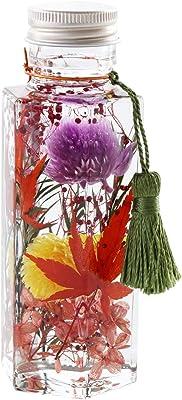 花まりか ハーバリウム 紅葉もみじハーバリウムSサイズ プレゼント (六角柱)