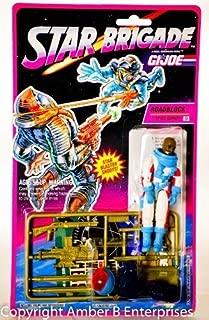 Original 3-3/4 inch GI Joe Star Brigade ROADBLOCK Action Figure (1993 Hasbro)