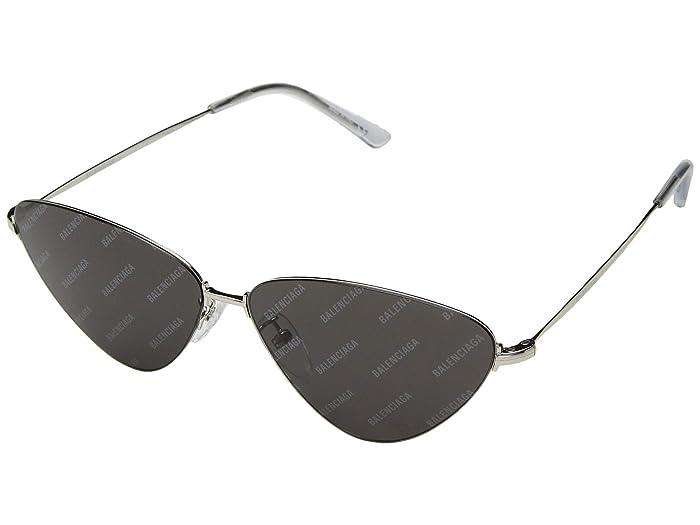 Balenciaga BB0015S (Silver) Fashion Sunglasses