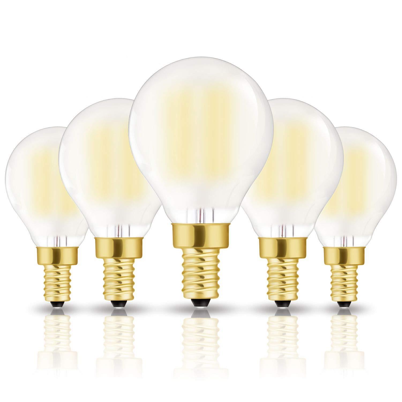 Equivalent Ceiling Fan Bulbs Warm White 3000k Home Light Fixtures Decorative E12 Led Bulb Candelabra Light Bulbs 8w Led Chandelier Light Bulbs 4 Pack 100w Base E12 Led Candle Bulbs 850lm Led Bulbs