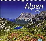 times&more Alpen Bildkalender. Wandkalender 2020. Monatskalendarium. Spiralbindung. Format 30 x 27 cm - Heye