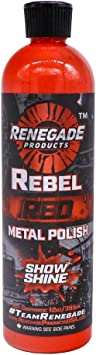 Renegade Products Rebel Red Liquid Metal Polish for high Polish on Aluminum, Stainless & Chrome: image