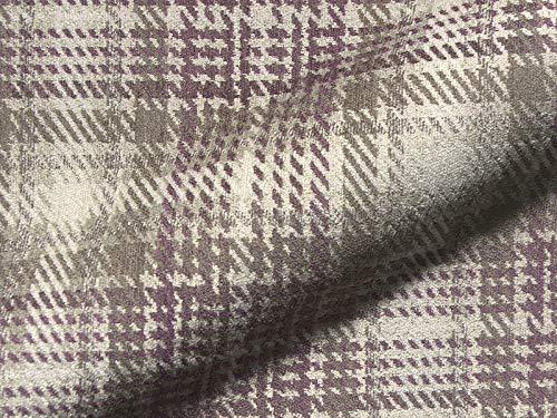 Joop! Stoff Polsterstoff Möbelstoff Bezugsstoff Meterware für Stühle, Eckbänke, etc. - Scottish Lila Kariert - Muster