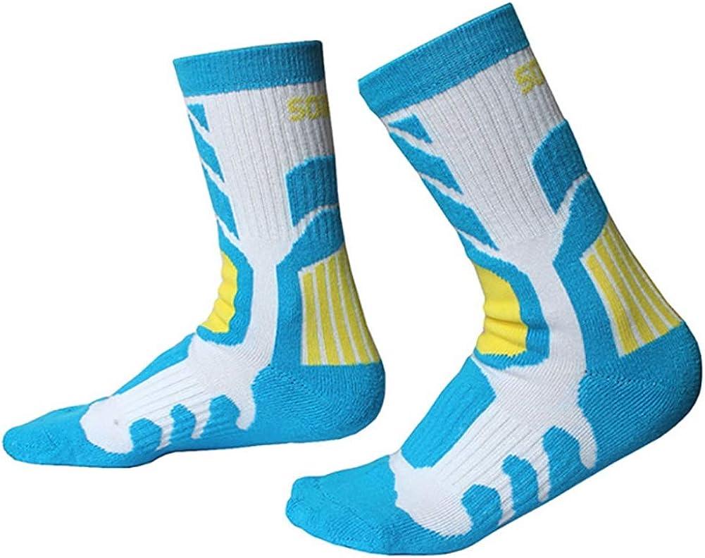 SuperCS 1 Pair Outdoor Sports Socks Children Anti-slip Anti-sweat Breathable Roller Skating Skiing Cycling Hosiery Footwear Accessories