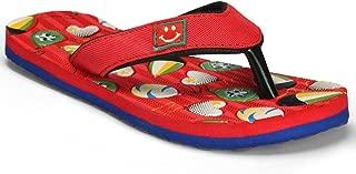 Pu Fiesta Unisex Kid's Red Flip-Flops-8 UK (25 EU) (PFWK0301BR8)