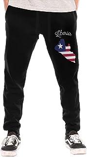 shenguang Liberia Pantalón de Forro Polar con Parte Inferior Cerrada para Hombre