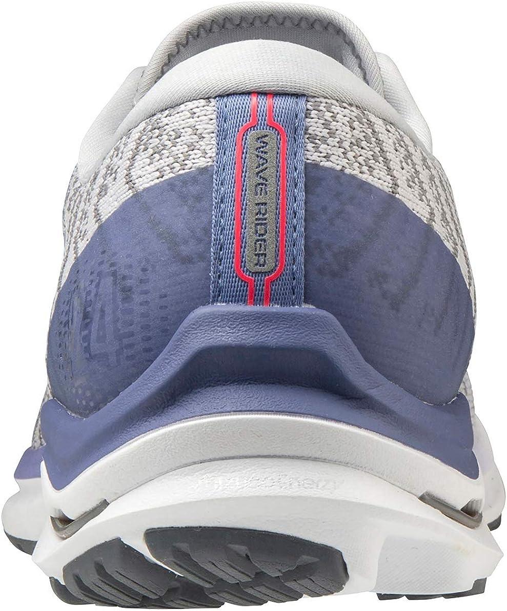 Mizuno Womens Wave Rider 24 Waveknit Running Shoe