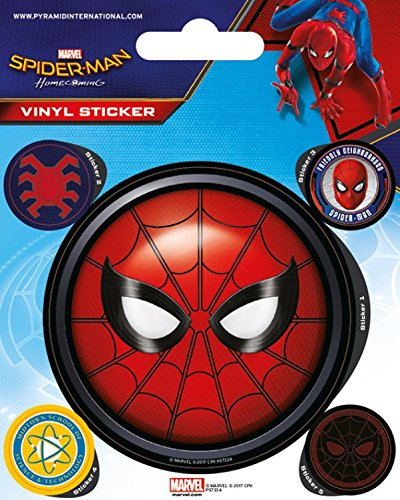 1art1 Spiderman - Homecoming Poster-Sticker Tattoo Aufkleber 12 x 10 cm